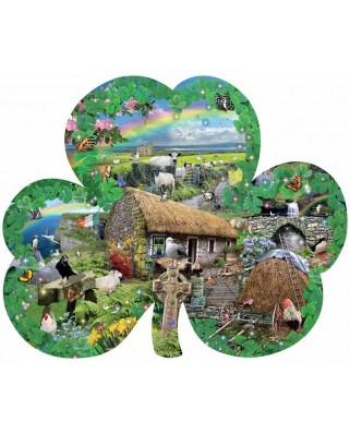 Puzzle contur SunsOut - Lori Schory: Irish Charm, 1.000 piese (64387)