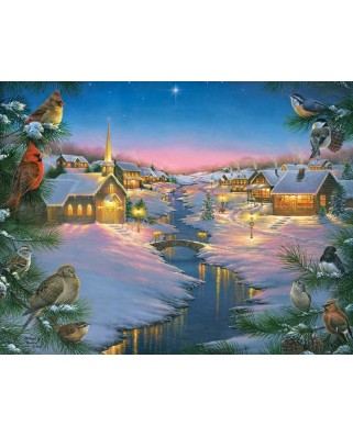 Puzzle SunsOut - Abraham Hunter: A Winter's Silent NIght, 1.000 piese XXL (64332)