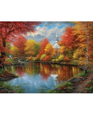 Puzzle SunsOut - Abraham Hunter: Autumn Tranquility, 1.000 piese XXL (64334)