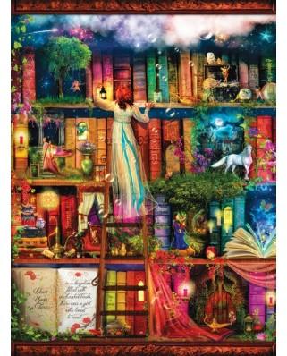 Puzzle SunsOut - Aimee Stewart: Treasure Hunt Bookshelf, 1000 piese (64159)