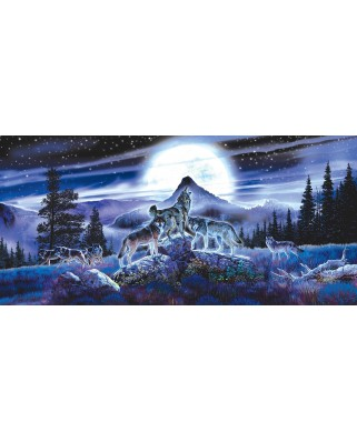 Puzzle SunsOut - Al Agnew: Night Wolves, 1.000 piese (64002)