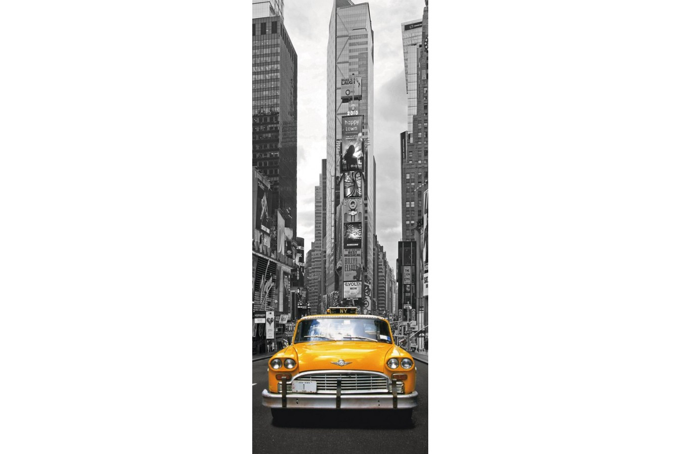 Puzzle Ravensburger - Taxiul Din New York, 1000 piese (15119)