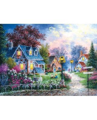 Puzzle SunsOut - Bearwell Lane, 1.000 piese (64137)
