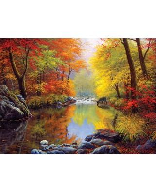 Puzzle SunsOut - Charles White: Autumn Sanctuary, 1000 piese (64142)
