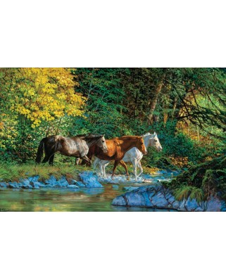 Puzzle SunsOut - Chris Cummings: Bear Creek Crossing, 1000 piese (64115)