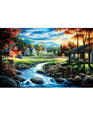 Puzzle SunsOut - Chuck Black: Country Sunday, 1.000 piese (64221)