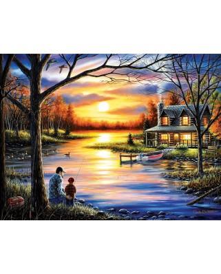 Puzzle SunsOut - Chuck Black: Father and Son, 1.000 piese (64216)