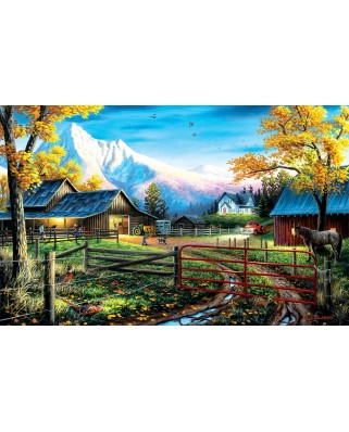 Puzzle SunsOut - Chuck Black: Western Lifestyle, 550 piese (64220)