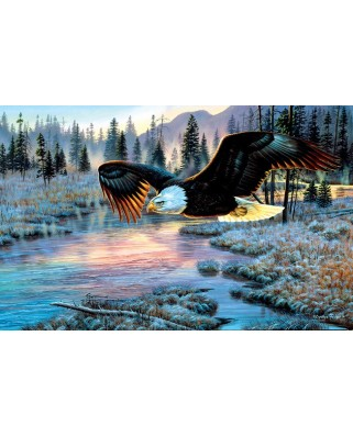 Puzzle SunsOut - Cynthie Fisher: Eagle Dawn, 1.000 piese (64342)