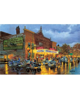 Puzzle SunsOut - Dave Barnhouse: American Classics, 550 piese (64257)