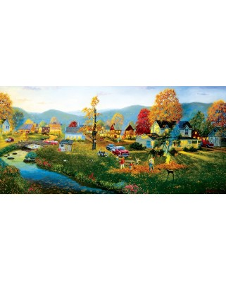 Puzzle SunsOut - Dave Barnhouse: Yardwork, 1.000 piese (64258)