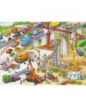 Puzzle Ravensburger - Teren De Constructii, 100 piese (10896)