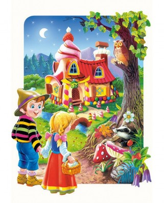 Puzzle Castorland - Hansel And Gretel, 20 piese XXL (2153)