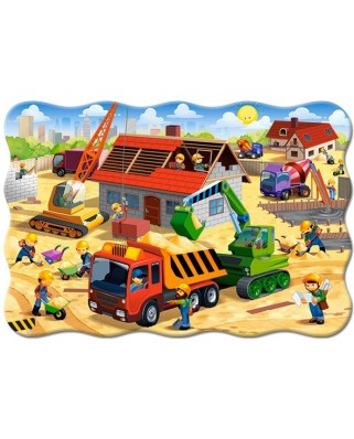 Puzzle Castorland - House In Construction, 20 piese XXL (2412)