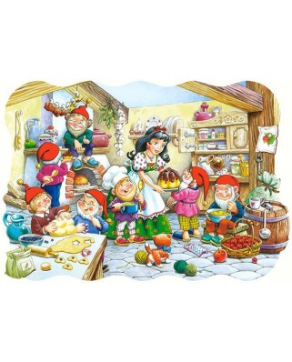 Puzzle Castorland - Snow White And The Seven Dwarfs, 20 piese XXL (2207)