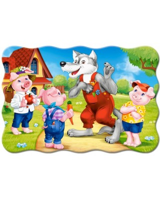 Puzzle Castorland - Three Little Pigs, 20 piese XXL (2399)