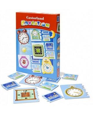 Puzzle Educativ Castorland - Puzzle Time, 21 piese (E-067)