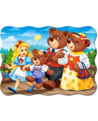 Puzzle Castorland - Goldilocks And Three Bears, 30 piese (3716)