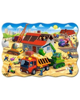Puzzle Castorland - House In Construction, 30 piese (3686)