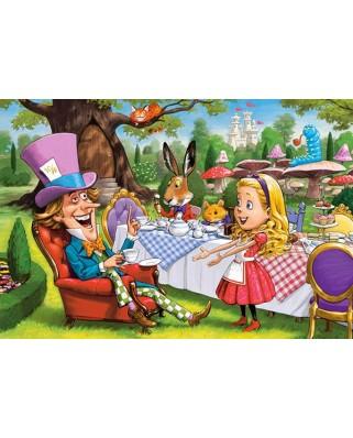 Puzzle Castorland - Alice In Wonderland, 40 piese XXL (40292)