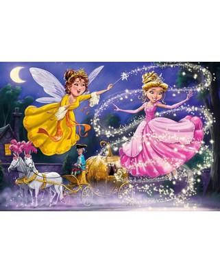 Puzzle Castorland - Cinderella, 40 piese XXL (40278)