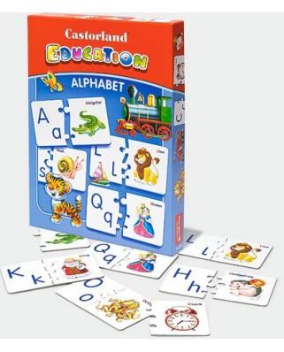 Puzzle Educativ Castorland - Puzzle Alphabet, 52 piese (E-043)
