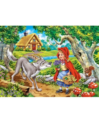 Puzzle Castorland - Little Red Riding Hood, 60 piese (66117)