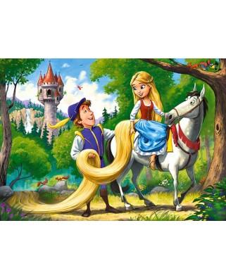 Puzzle Castorland - Rapunzel, 60 piese (66124)