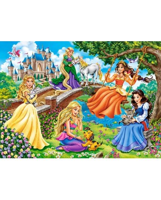 Puzzle Castorland - Princesses In Garden, 70 piese (70022)