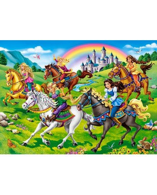 Puzzle Castorland - Princess Horse Ride, 100 piese (111053)
