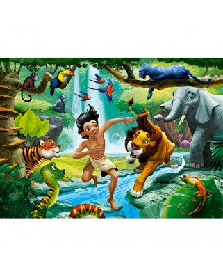 Puzzle Castorland - Jungle Book, 120 piese (13487)