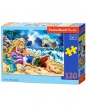 Puzzle Castorland - Little Mermaid, 120 piese (13388)