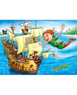 Puzzle Castorland - Peter Pan, 120 piese (13432)