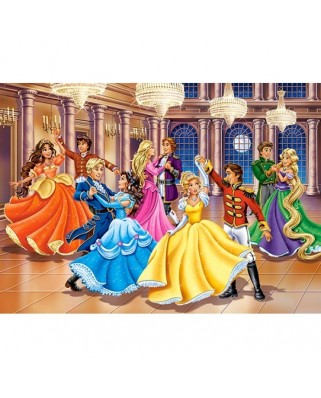 Puzzle Castorland - Princess Ball, 120 piese (13449)