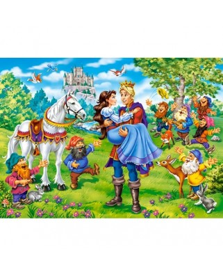 Puzzle Castorland - Snow White Happy Ending, 120 piese (13463)