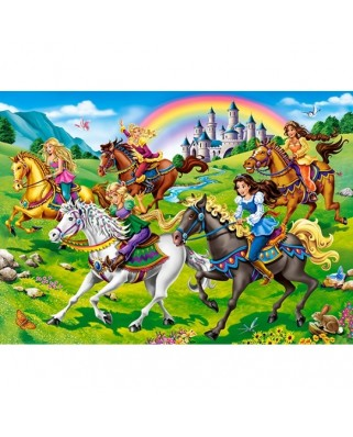Puzzle Castorland - Princess Horse Ride, 260 piese (27507)