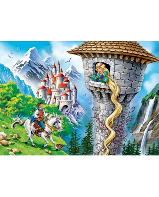 Puzzle Castorland - Rapunzel, 260 piese (27453)