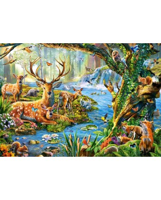 Puzzle Castorland - Forest Life, 500 piese (52929)