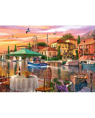 Puzzle Castorland - Sunset Harbour, 500 piese (52912)