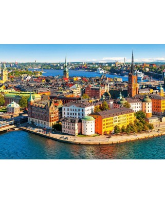 Puzzle Castorland - The Old Town Of Stockholm, 500 piese (52790)