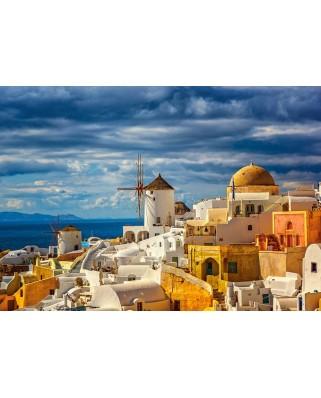 Puzzle Castorland - View Of Oia Santorini, 500 piese (52905)