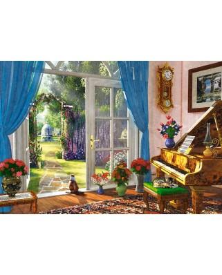 Puzzle Castorland - Doorway Room View, 1000 piese (104079)