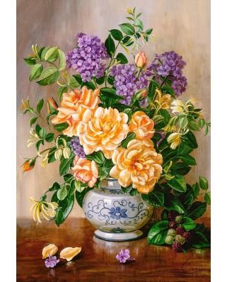 Puzzle Castorland - Floral, 1.000 piese (103928)