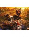 Puzzle Ravensburger - Tigri, 2.000 piese (16646)