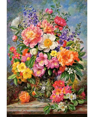 Puzzle Castorland - June Flowers In Radiance, 1.000 piese (103904)