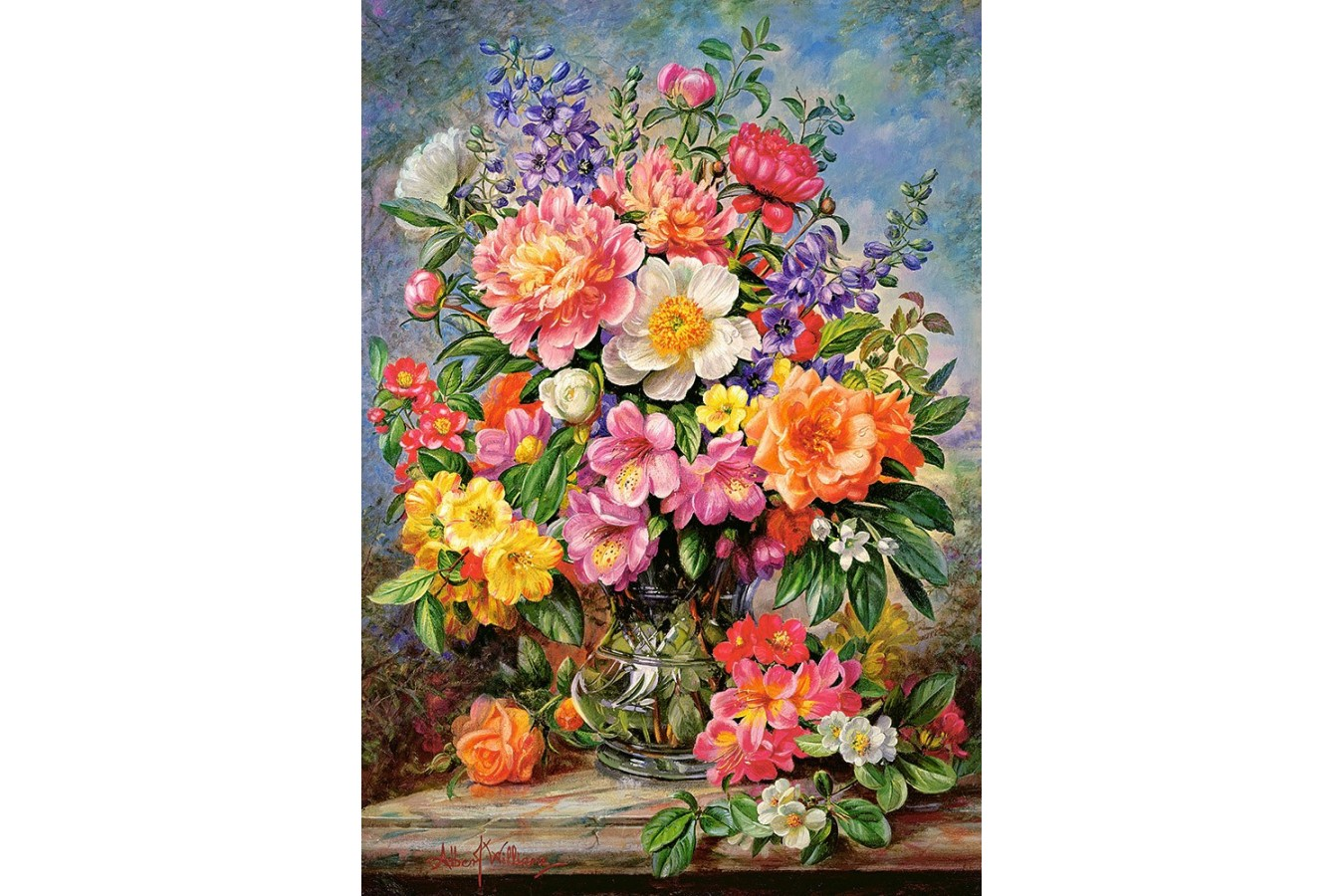 Puzzle Castorland - June Flowers In Radiance, 1000 piese (103904)