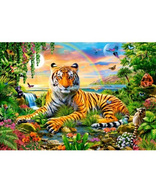 Puzzle Castorland - King Of The Jungle, 1.000 piese (103300)