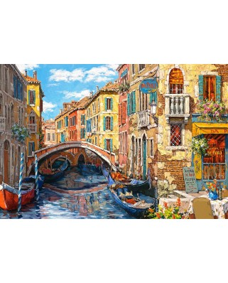 Puzzle Castorland - Reflections Of Venice, 1.000 piese (103683)