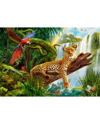 Puzzle Castorland - Resting Leopard, 1.000 piese (104093)