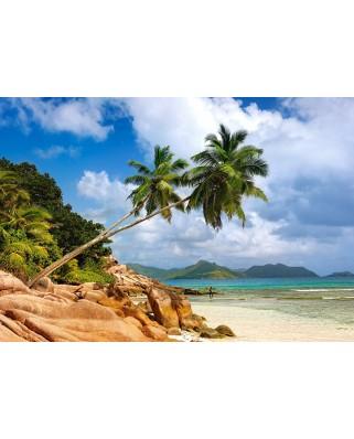 Puzzle Castorland - Secret Beach, 1.000 piese (103713)